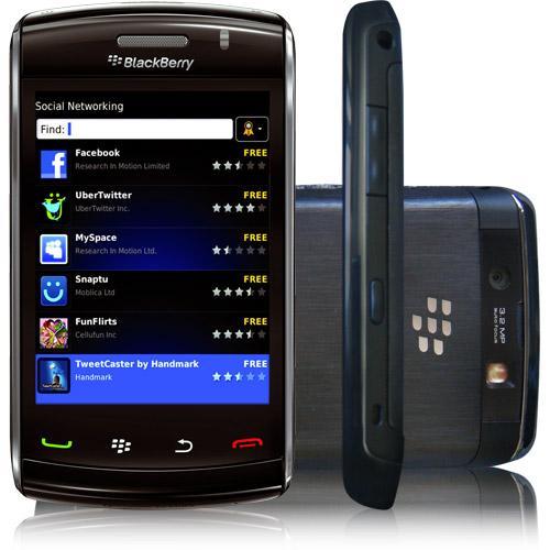 BlackBerry Storm 9500 8 Go - Noir - Débloqué