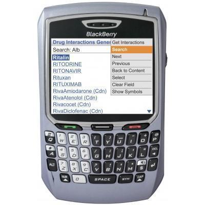 BlackBerry 8707v - Gris - Débloqué