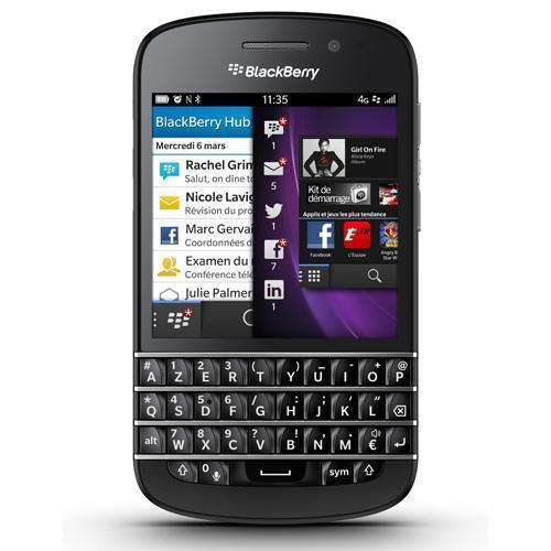 Blackberry Q10 - Noir - Orange