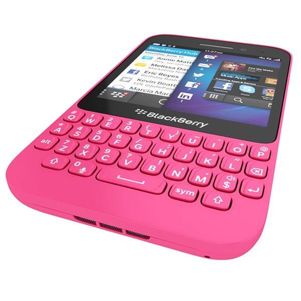 BlackBerry Q5 8 Go Rose Débloqué