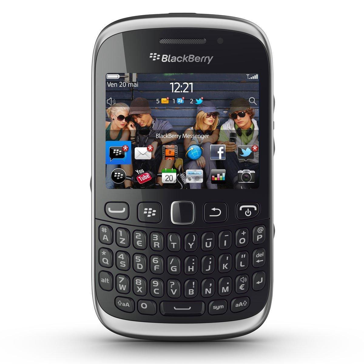 Blackberry Curve 9320 512 MB - Schwarz - SFR