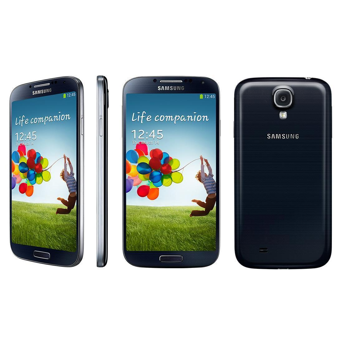 Samsung Galaxy S4 16 Go i9505 4G - Noir - Orange