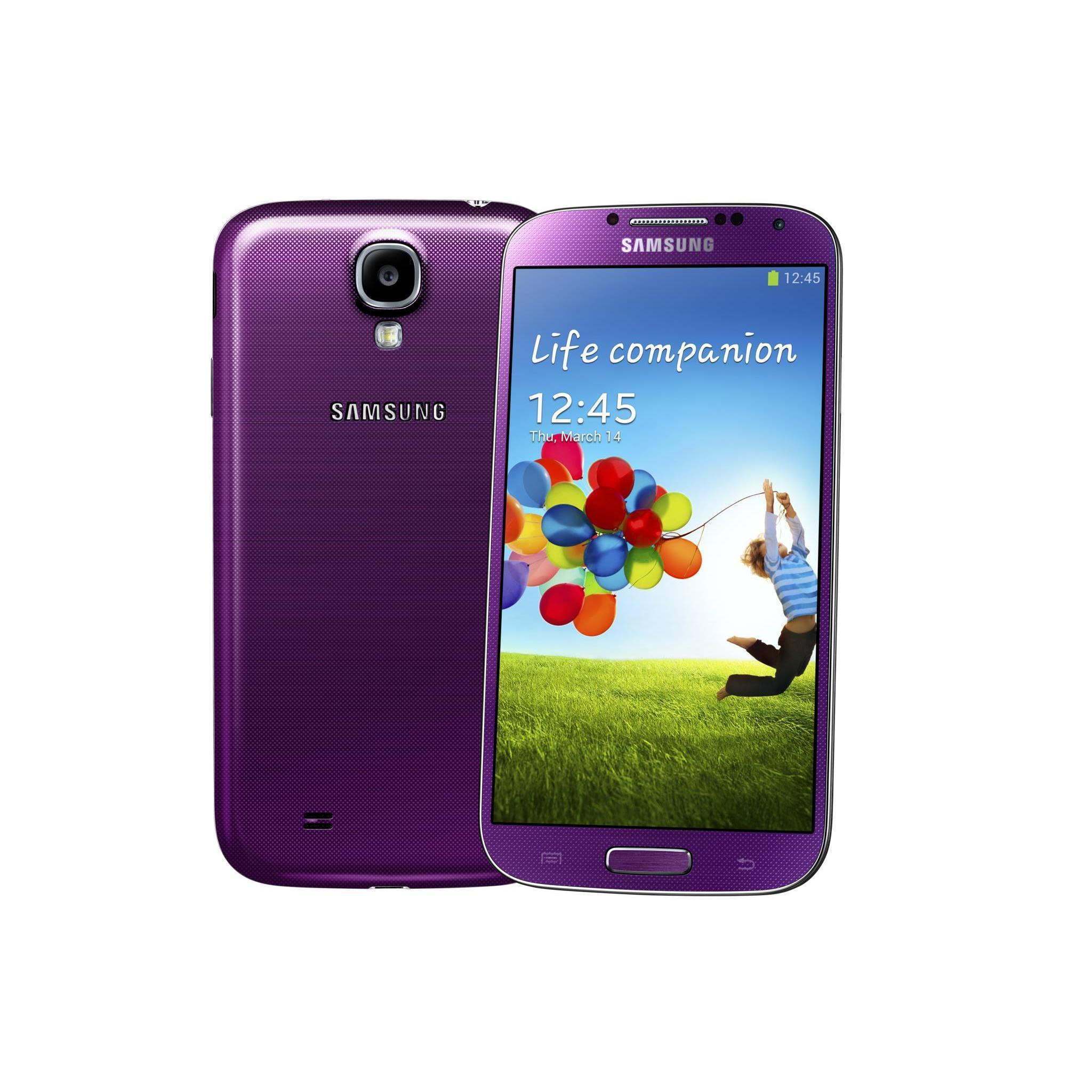 Samsung Galaxy S4 16 Go - Violet - Orange