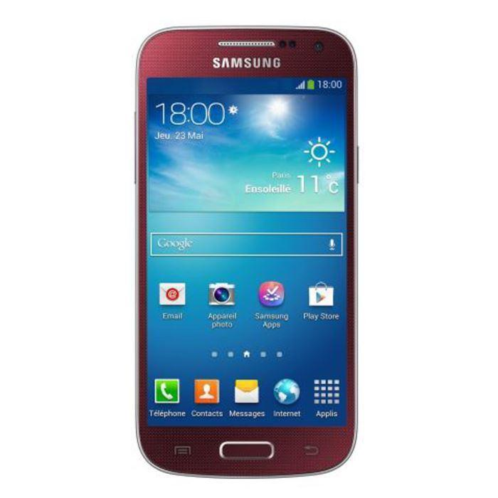Samsung Galaxy S4 mini 8 Go 4G - Rouge - Débloqué