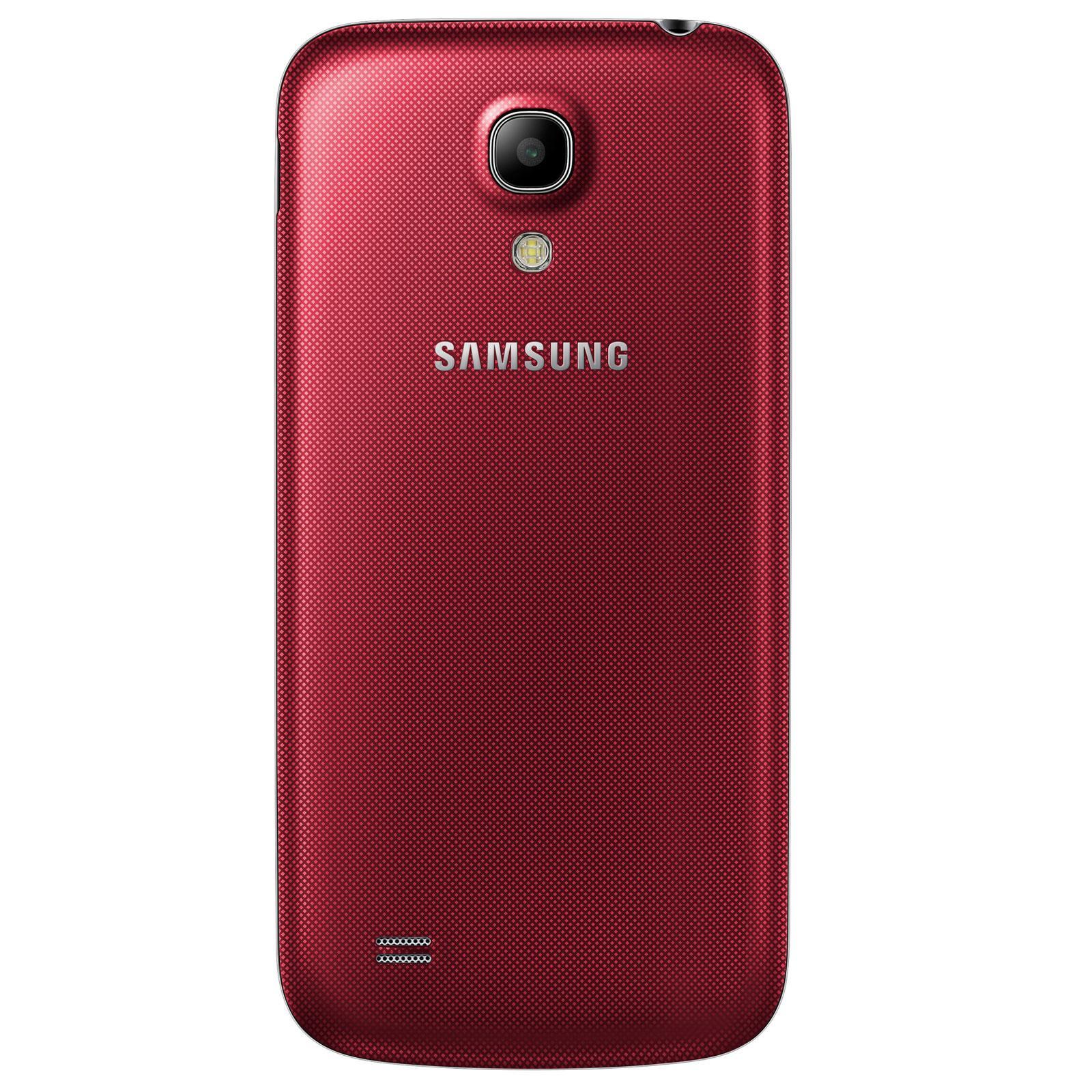 Samsung Galaxy S4 mini 8 Go - Rouge - Débloqué