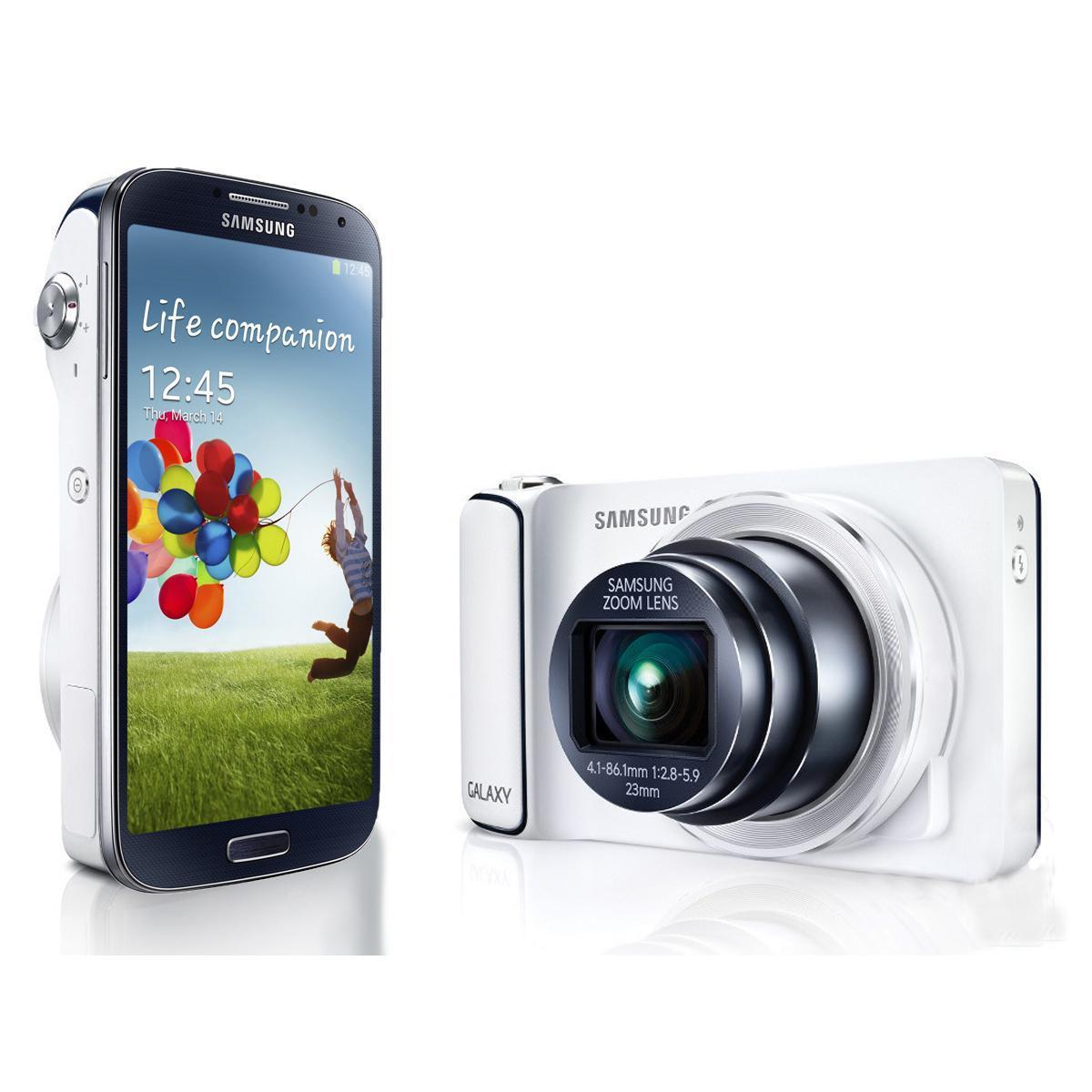 Samsung Galaxy S4 Zoom 8Go - Blanc - Débloqué