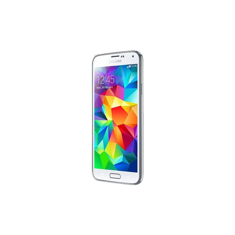 Samsung Galaxy S5 16 Go G900F 4G - Blanc - Orange