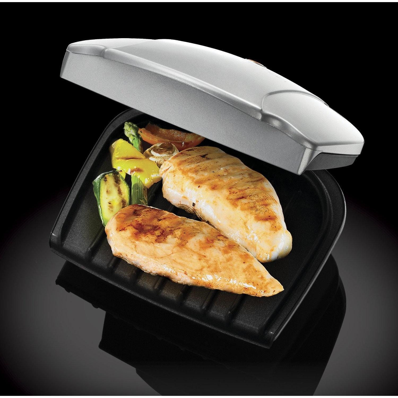 Grill - George Foreman - 17894 - Grill compact et réducteur de graisse 2 portions
