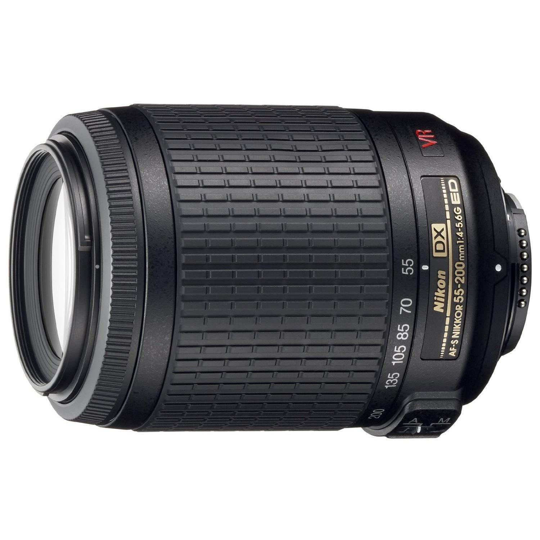 Objectif reflex stabilisé Nikon AF-S DX VR ED IF 55 - 200 mm f/4.0 - 5.6 série G