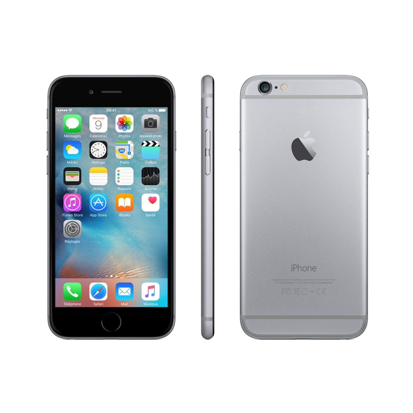 iPhone 6 128 Go - Gris Sidéral - Bouygues
