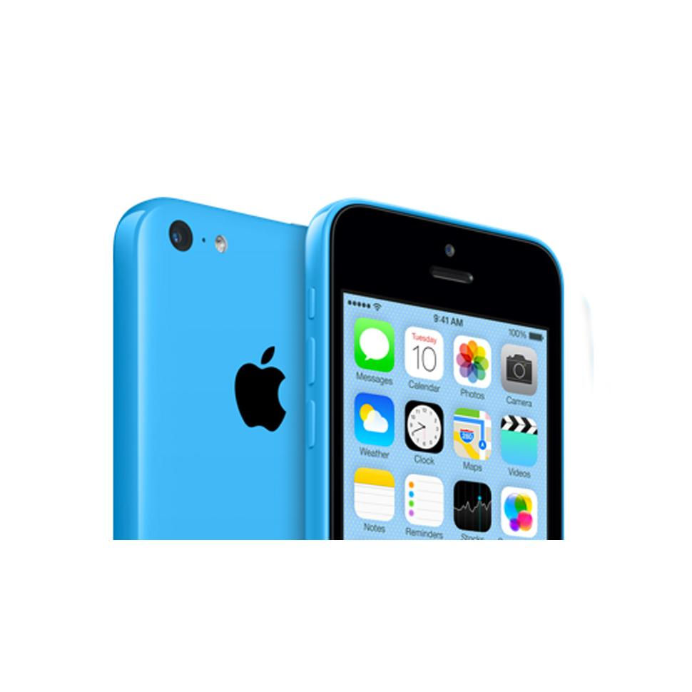 iphone 5c 16 go bleu d bloqu reconditionn back market. Black Bedroom Furniture Sets. Home Design Ideas