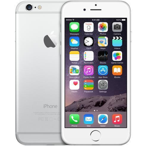 iPhone 6 16GB - Silber - Orange