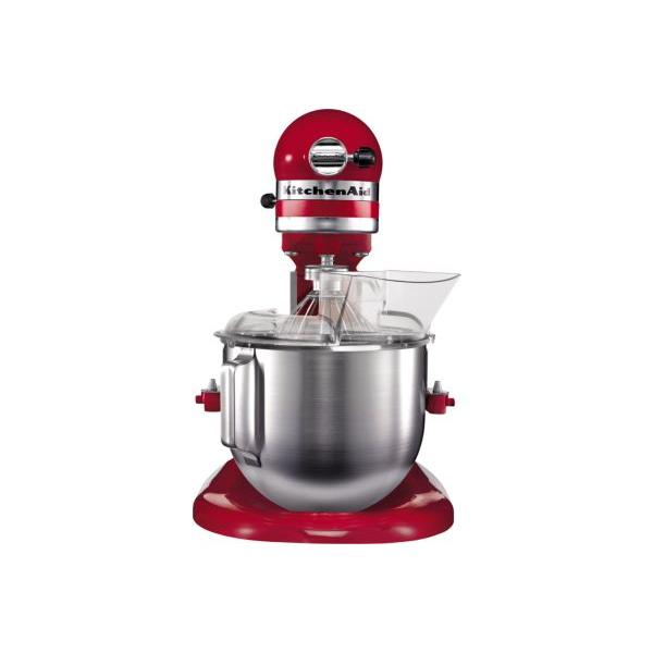 Robot sur socle Artisan KitchenAid 5KPM5EER PRO Rouge empire