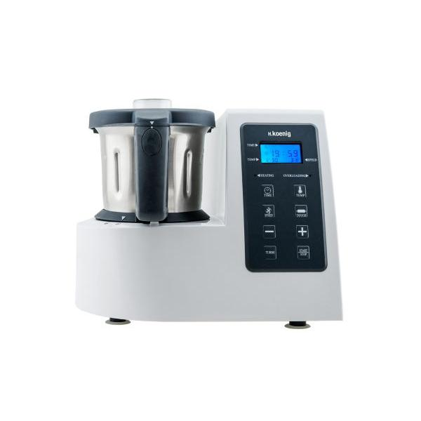 Robot multifonction H.KOENIG HKM1028 Robot culinaire chauffant