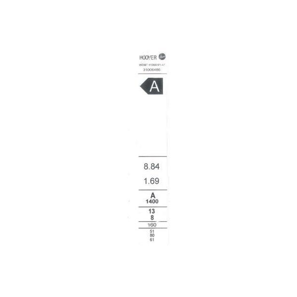Lave-linge séchant HOOVER WDMT 4138AH/1