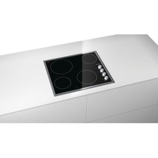 Table de cuisson vitrocéramique BOSCH PKE645C17E