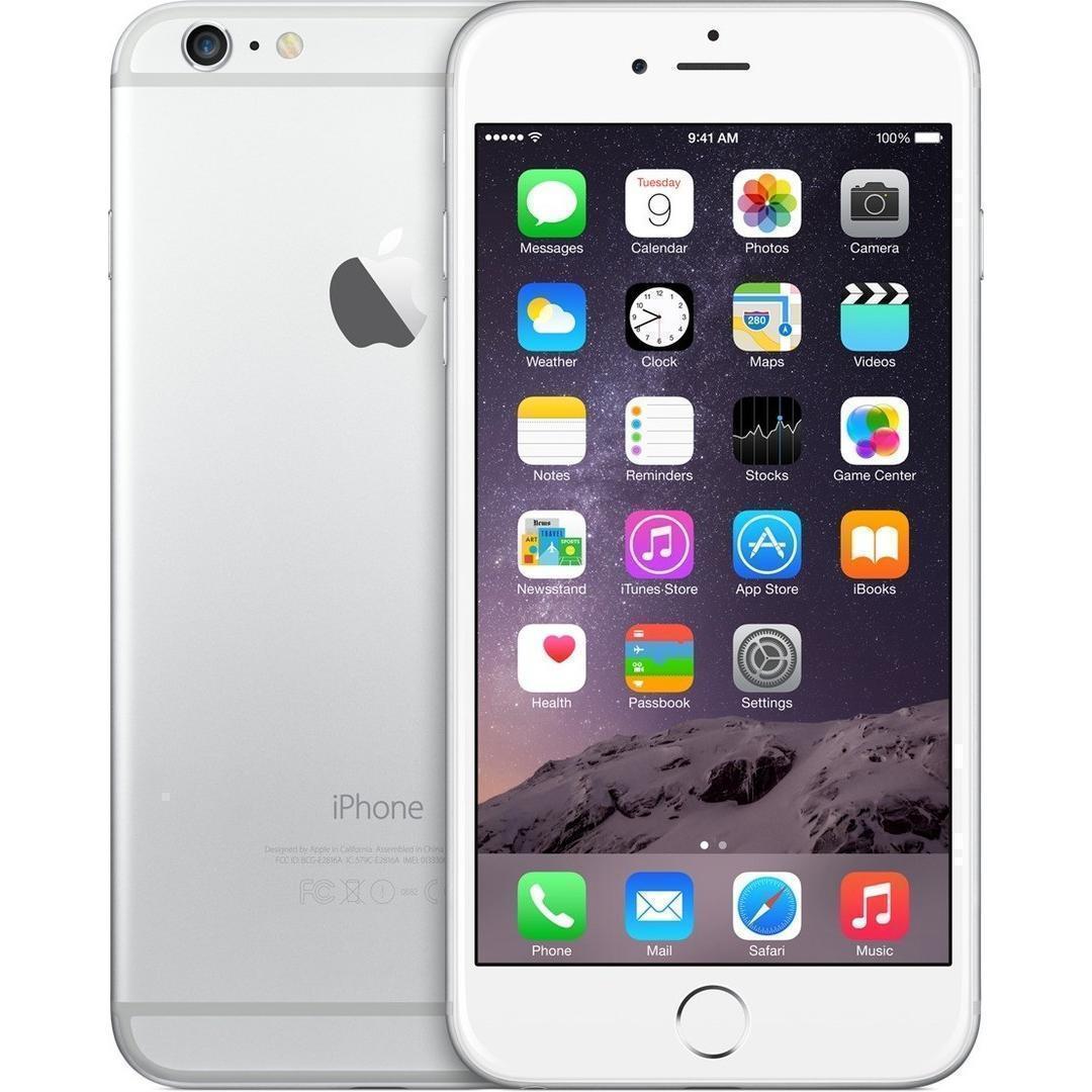 iPhone 6S Plus 128 GB - Silber - Ohne Vertrag