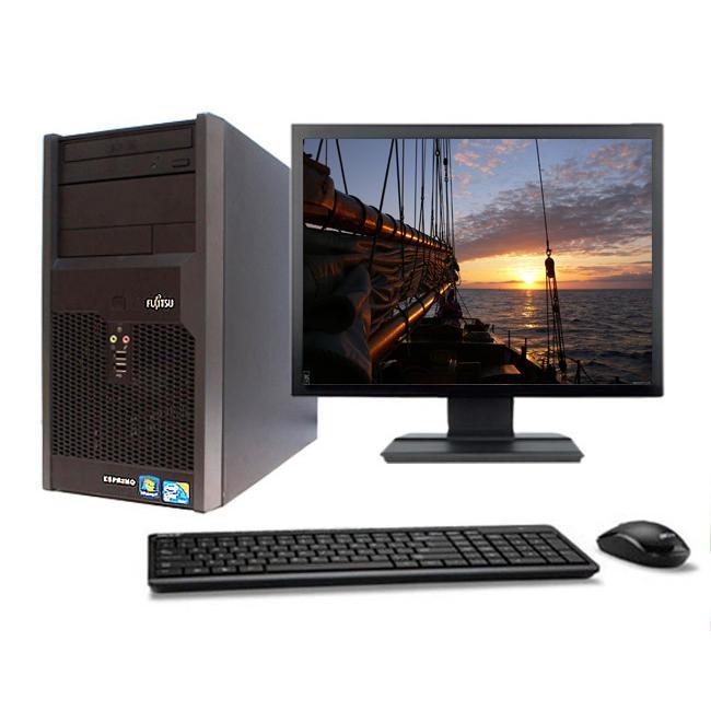 """Fujitsu Esprimo P2560 19"""" Intel Pentium D 2.8 GHz  - SSD 240 Go - RAM 8 Go"""