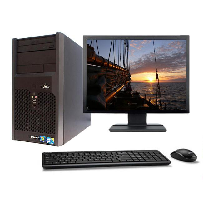 "Fujitsu Esprimo P2560 22"" Intel Pentium D 2.8 GHz  - HDD 500 Go - RAM 4 Go"