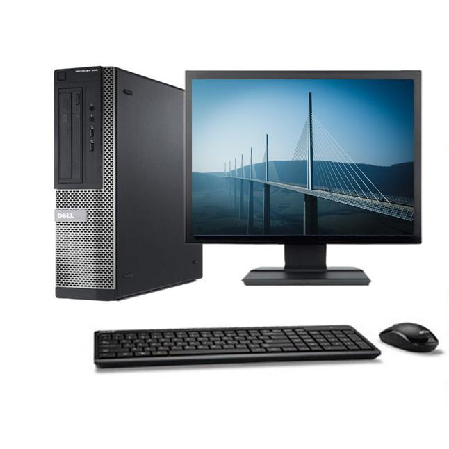 Dell Optiplex 390 DT - Intel Pentium G 2.7 GHz - HDD 160 Go - RAM 4GB Go