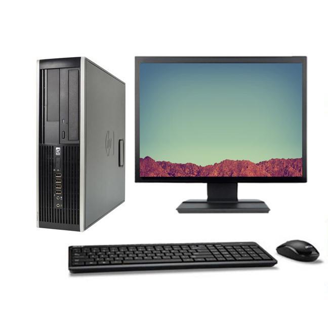 """HP Compaq 6005 Pro SFF 22"""" AMD 3 GHz  - HDD 160 Go - RAM 4 Go"""