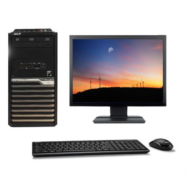 "Acer Veriton M421G Tour 19"" AMD Athlon 64 X2 2.5 GHz  - HDD 750 Go - RAM 2 Go"