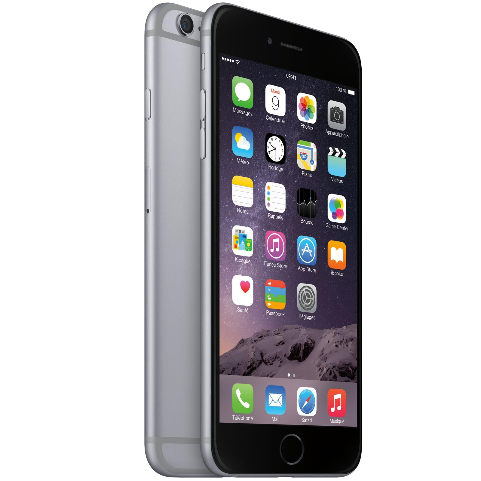 iPhone 6S Plus 64 Go - Gris Espacial - libre