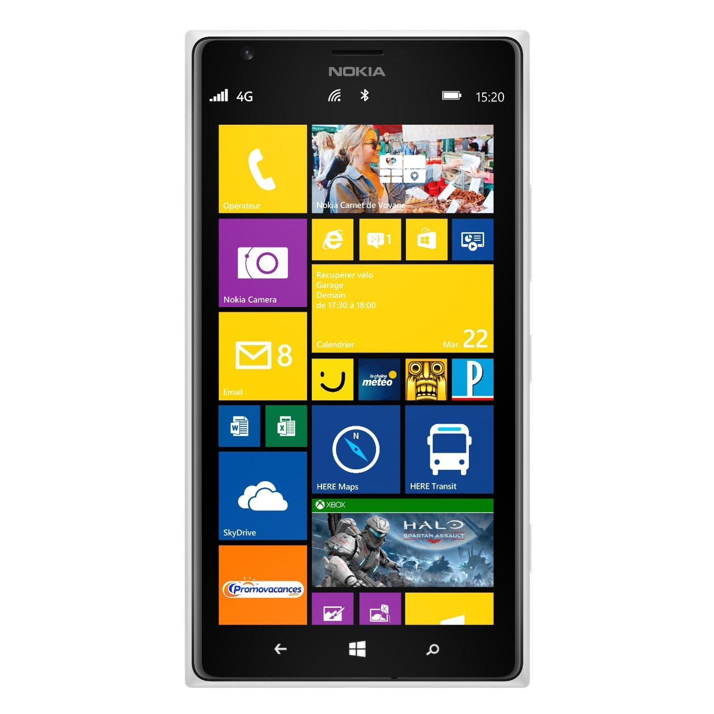 Nokia Lumia 1520 32 Go - Blanc - Débloqué
