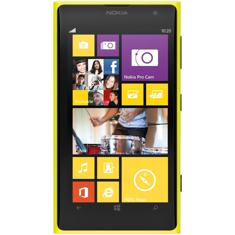 Nokia Lumia 1020 32 Go - Jaune - Débloqué