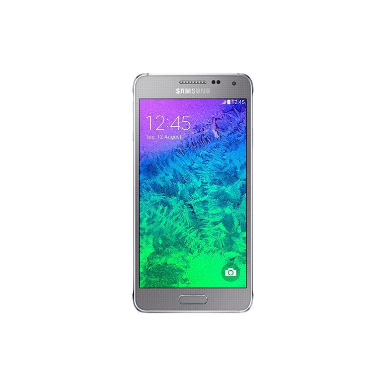 Samsung Galaxy Alpha 32 Go - Argent - SFR