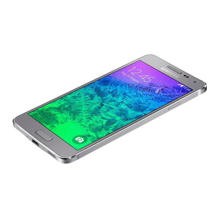 Samsung Galaxy Alpha 32GB - Silber - SFR