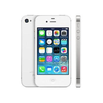iPhone 4S 16 Gb - Blanco - Naranja