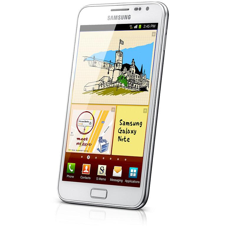 Samsung Galaxy Note 16 Go N7000 - Blanc - Débloqué