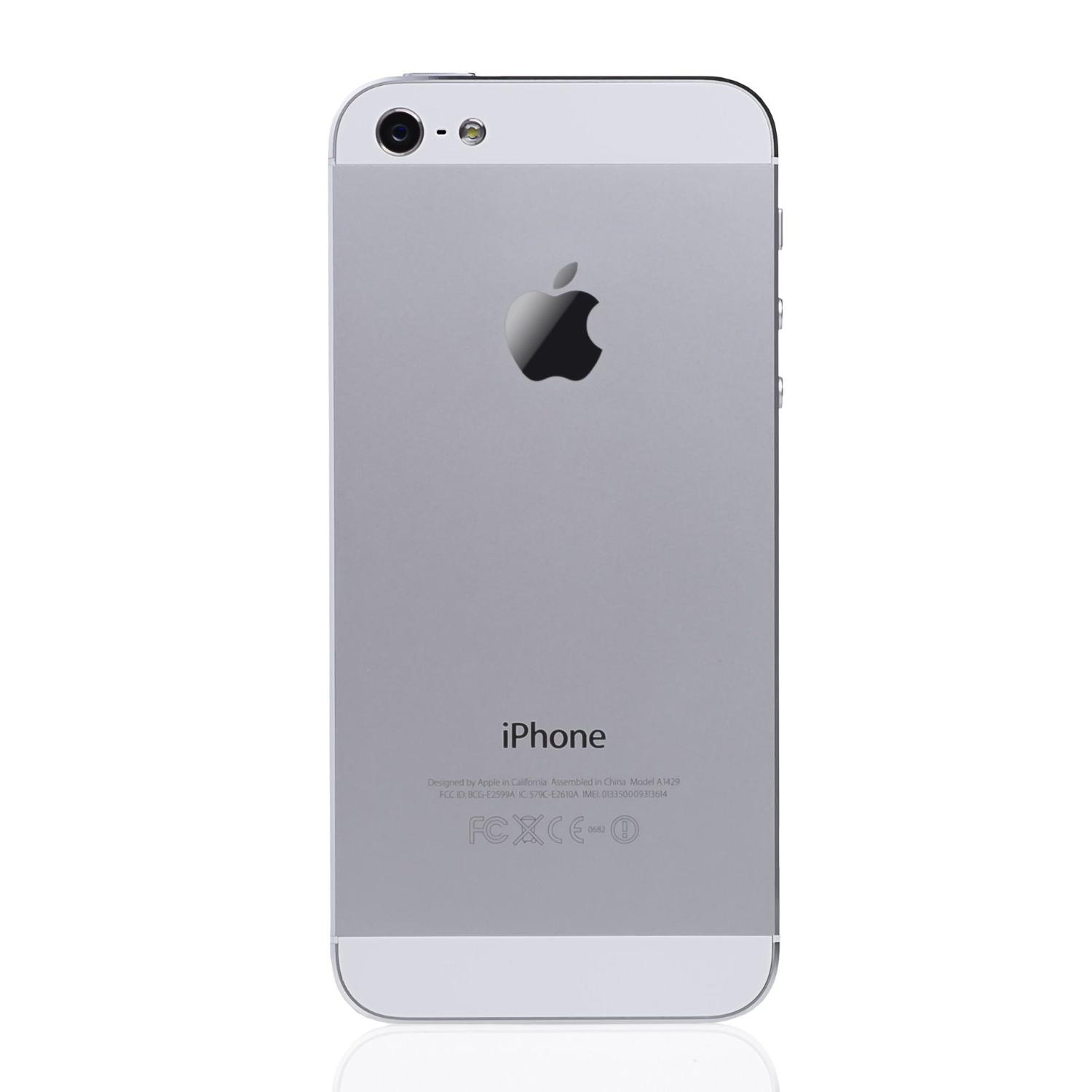 iPhone 5 16 Go - Blanc - Orange