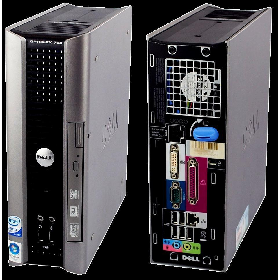 Dell Intel - Core 2 Duo E6550 @2.33GHz 2.33  GHz - HDD 250 Go - RAM 4 Go - AZERTY
