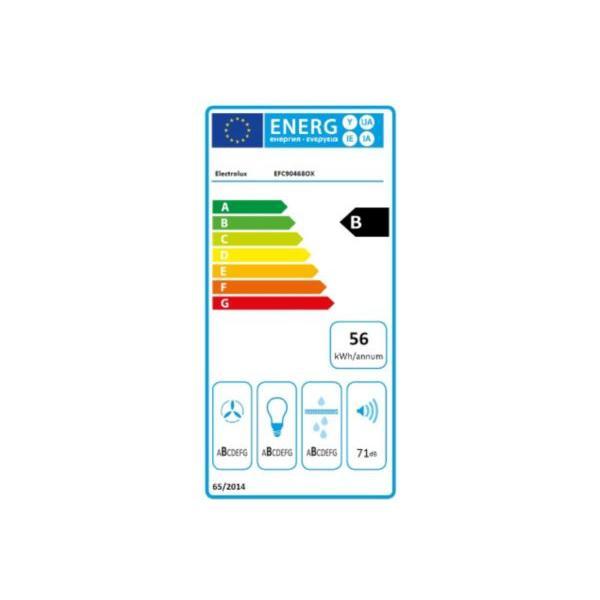 Hotte Décor ELECTROLUX EFC90468OX
