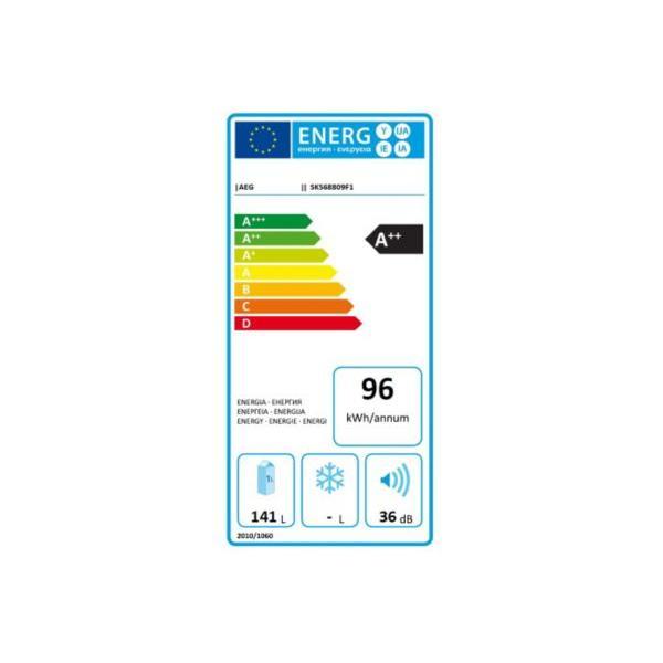 Réfrigérateur intégrable top AEG SKS68809F1 55.6 x 87.3 x 54.9