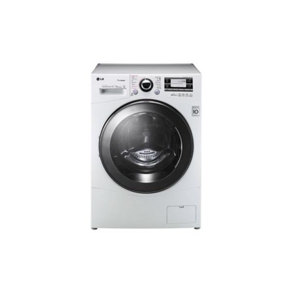 Lave-linge séchant vapeur frontal LG Motion Direct Drive F28693WRH 8/12kg