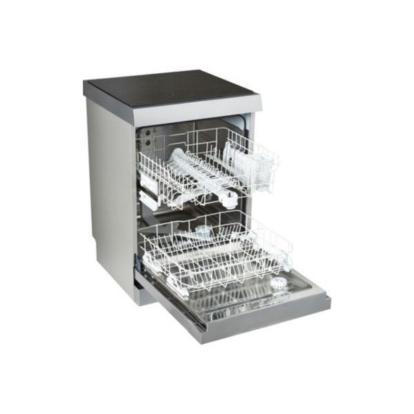 Lave-vaisselle plaque de cuisson induction BRANDT DKH1310IX 13 couverts 60 x 89.3 x 60 cm