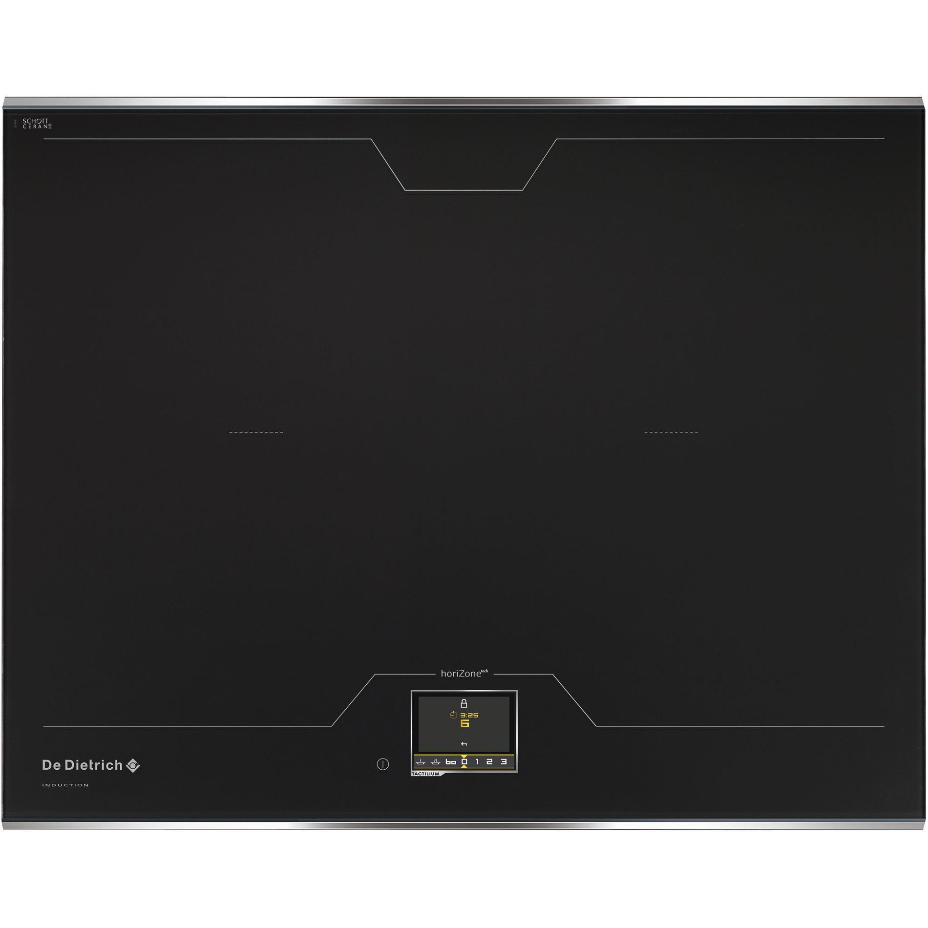 Table de cuisson induction 4 foyer(s) - Touches sensitives - Zones de cuisson modulables  DTI1568DG