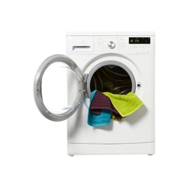 Lave-linge frontal WHIRLPOOL EX AWOD4847 8kg 59.5 x 85 x 56.5 cm
