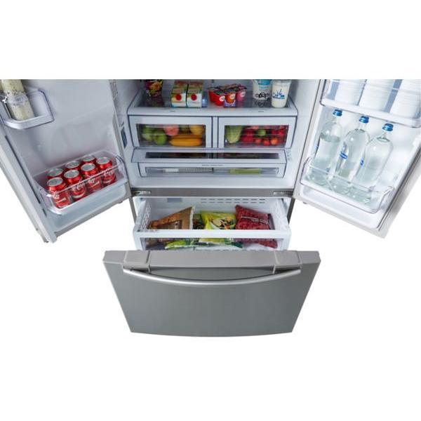 Réfrigérateur multiportes SAMSUNG RFG23RESL