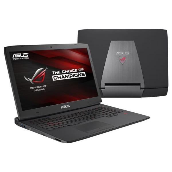 Asus ROG G751JY-T7036H - i7-4860HQ 2,4 GHz - HDD + SSD 2000 Go - RAM 32 Go - AZERTY