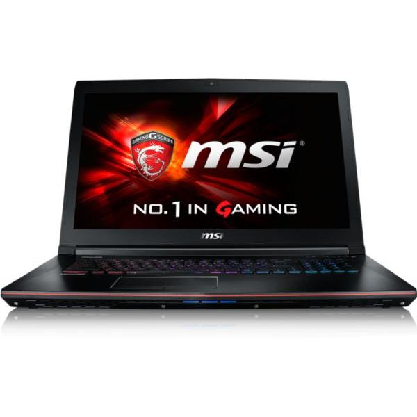 "Msi W10 GE72 6QF6-011FR 17,3"" i7-6700HQ 2,6 GHz  - HDD 1 To - RAM 8 Go- NVIDIA GeForce GTX970M"