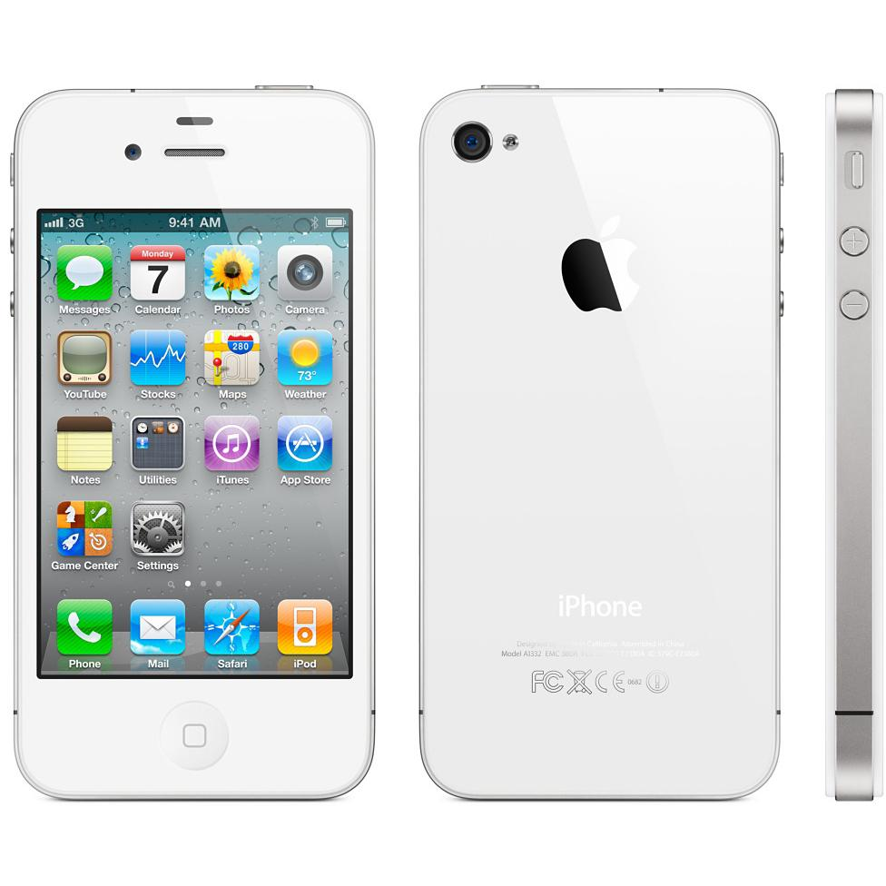 iPhone 4s 32GB - Weiß - Ohne Vertrag