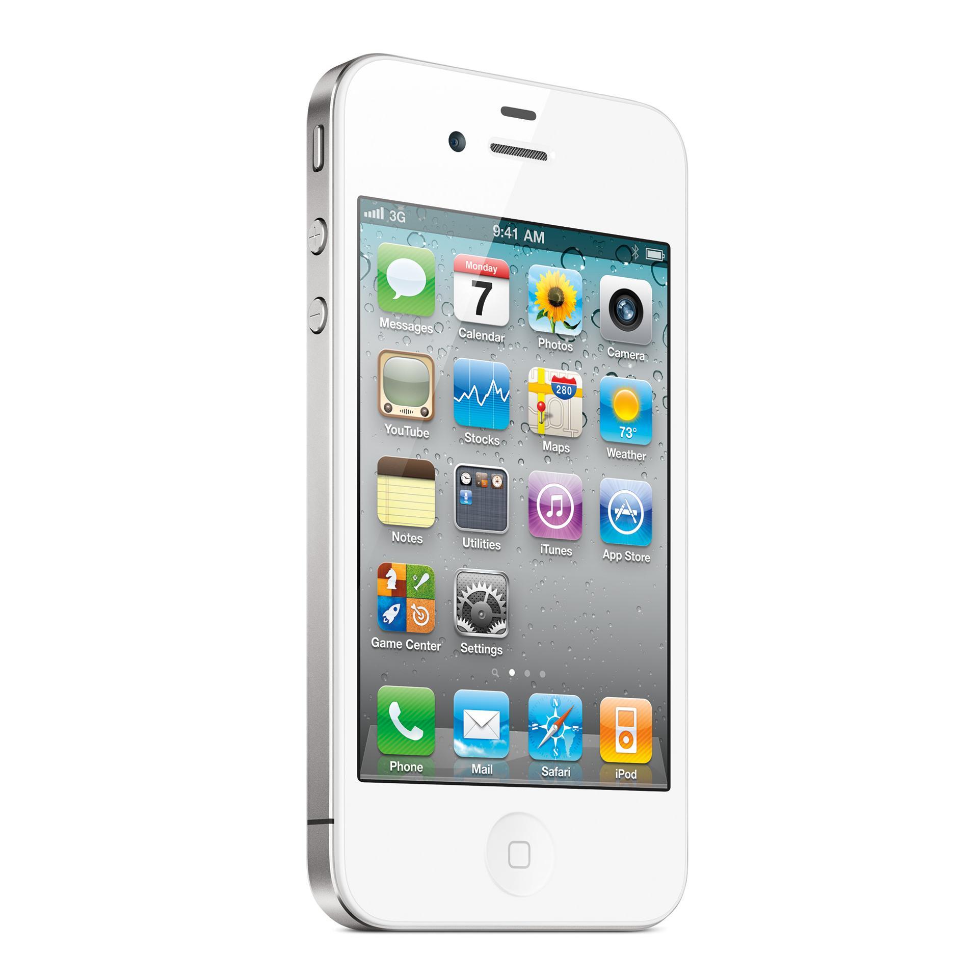iPhone 4S 32 Go - Blanc - Débloqué