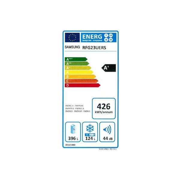 Réfrigérateur américain SAMSUNG RFG23UERS Froid ventilé