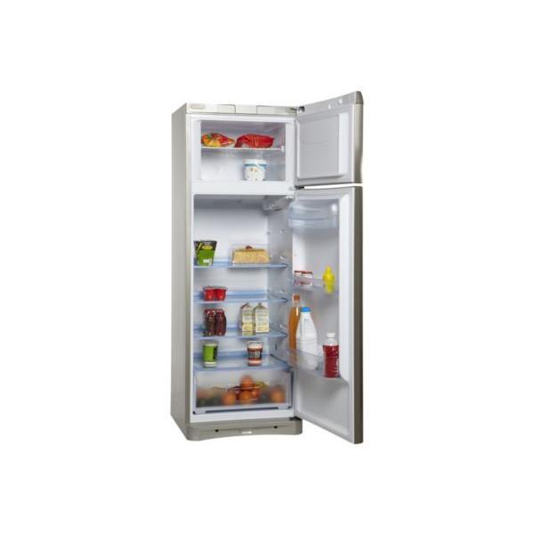 Réfrigérateur congélateur haut INDESIT NTAA 25 NX inox