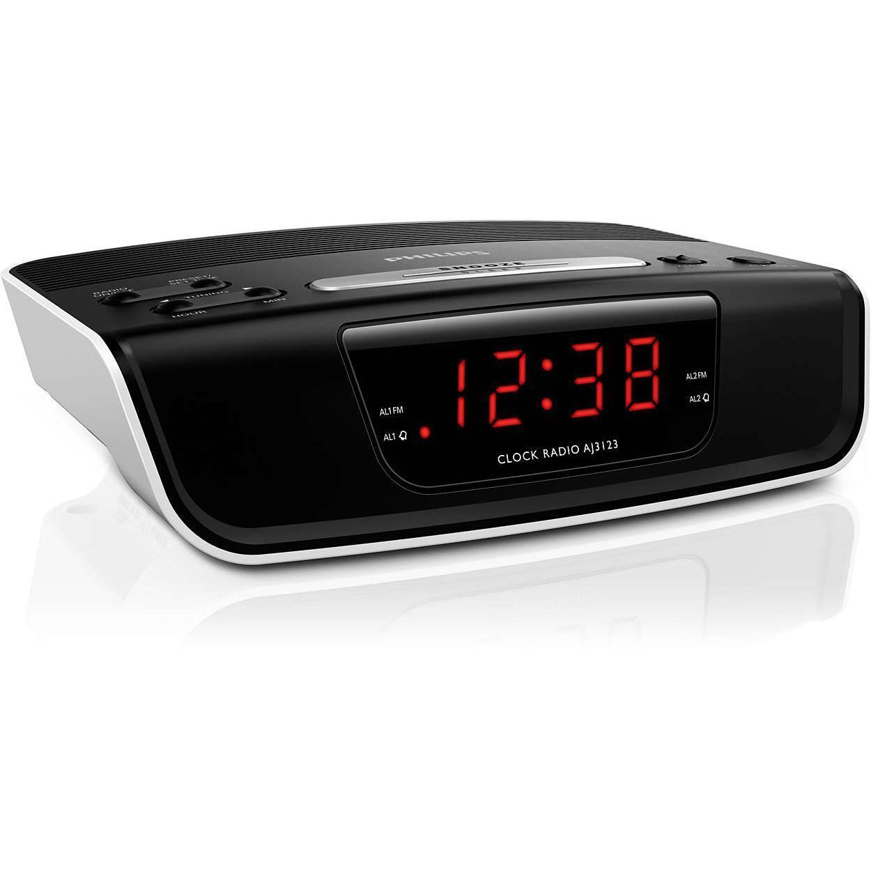 Radio réveil Philips AJ3123/12