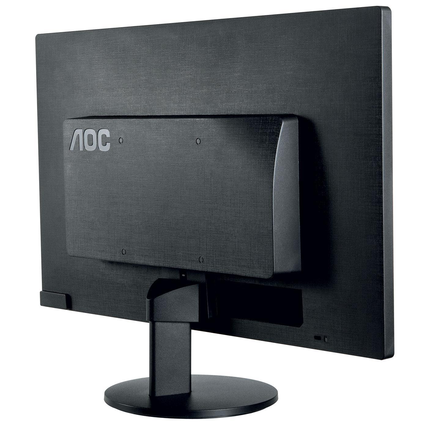 AOC - E2470SWHE - Ecran PC 23.6 Wide LED - Noir